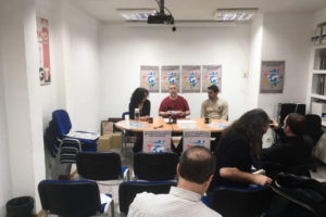 CGT, Solidaires y CSP Conlutas presentan en rueda de prensa el III Encuentro de la Red Sindical Internacional de Solidaridad y Luchas