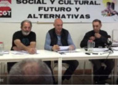 Rueda de prensa de CGT por el abandono de Ruesta por la CHE