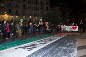 Valladolid con los menores palestinos presos