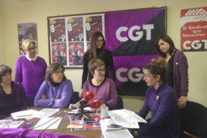 Preaviso de Huelga General Feminista el 8M de CGT Soria: «Sin nosotras el mundo no funciona»
