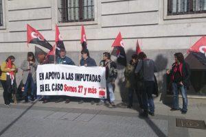 Concentración en apoyo a Ermengol Gassiot en Santander