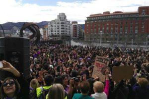 Fotos y vídeos de la histórica movilización del 8 de marzo de 2018 en Bilbo