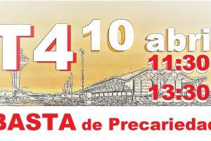 CGT reclama al gobierno que rectifique la política de dividendos de Aena y que cese en la distribución de la precariedad en los aeropuertos