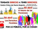 """Jornadas Formativas de CGT Segovia """"Tenemos Derecho a tener Derechos"""""""