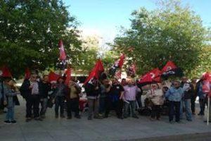 CGT-BS informa: CGT se movilizó ante la Junta de Accionistas en defensa de nuestros puestos de trabajo