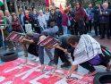 Valladolid, CGT con el pueblo Palestino, Día de la Nakba