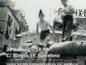 Debate sobre memoria histórica en el local de CGT Catalunya el miércoles 30 de mayo