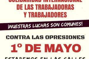 Llamamiento internacionalista por el Primero de Mayo 2018 desde la Red Sindical Internacional de Solidaridad y lucha