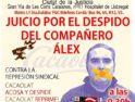 25-J: Concentración en apoyo de Alex, despedido por Cacaolat