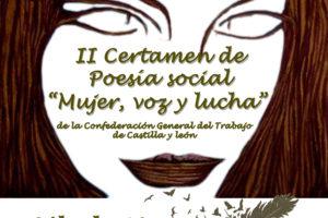 Entrega Premios II Certamen de poesía social «Mujer, voz y lucha» de CGT Castilla y León