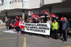 El conflicto entre Consellerias agrava la atención a las personas dependientes y las condiciones laborales del personal en las residencias de personas mayores de Borriana y Lledó