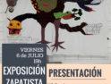 INAUGURACIÓN de la Exposición Zapatista CompArte en Madrid