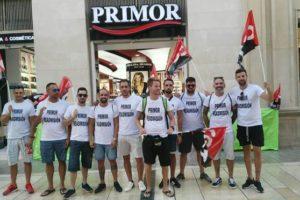 Protestas frente a Perfumerías Primor en San Fernando y Cádiz