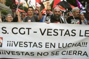 CGT no firma el preacuerdo de ERE en Vestas