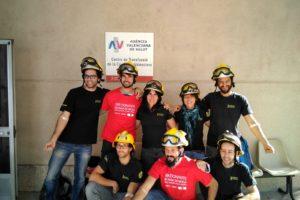 Bomberos y bomberas Forestales de la Generalitat Valenciana hacen una donación solidaria de sangre