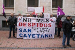 CGT-Valladolid contra los despidos en San Cayetano