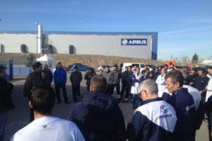 Diario de la huelga indefinida en la planta de Airbus en Illescas (Día 3º)