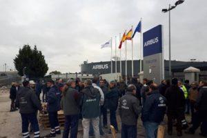 Diario de la huelga indefinida en la planta de Airbus en Illescas (Día 4º)