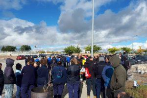 Huelga indefinida en la factoría de Airbus Illescas