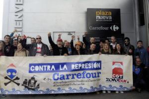 Carrefour Leganés sanciona con 16 días de suspensión a la delegada de CGT