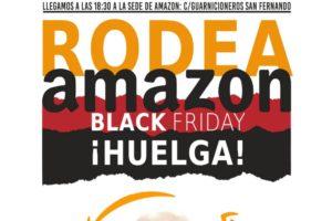 """Apoya el manifiesto """"Rodea Amazon 23N"""", este Black Friday ponte en pie contra la multinacional"""