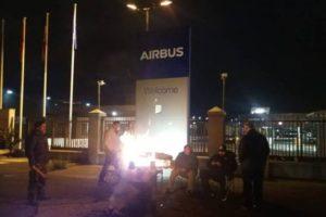 Diario de la huelga indefinida en la planta de Airbus en Illescas (Día 5º)