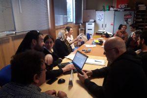 El Pleno Ordinario de la Federación Local ha elegido al nuevo Secretariado Permanente de CGT Valencia