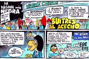 La revista El Jueves recoge el conflicto laboral de los ERE en WiZink