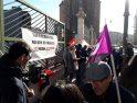 CGT Valladolid en apoyo de las trabajadoras y trabajadores del 112