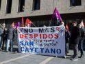 Concentración en Valladolid en apoyo del compañero despedido de San Cayetano