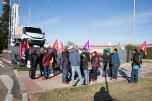 CGT Valladolid se concentra en Iveco contra carencias en Salud y Seguridad