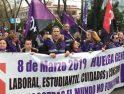 CGT califica de éxito el seguimiento de la jornada de Huelga General de este 8 de marzo