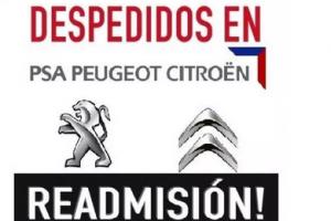 CGT informa de acciones para exigir la readmisión del trabajador despedido de PSA Madrid por reclamar ropa de trabajo