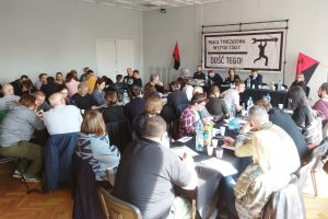 CGT asiste al Congreso de Inicjiatywa Pracownicza