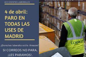 CGT convoca huelga de repartidores en Correos Madrid