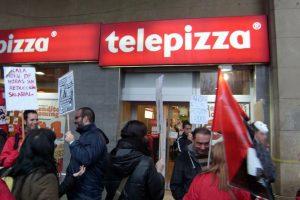 31M Huelga en Telepizza: Por la Subida del salario mínimo ya. No a la franquiciación