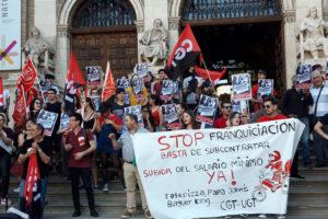 La plantilla de Telepizza Zaragoza irá a la huelga el 29-J por la aplicación de la subida del SMI