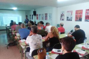 Celebrado en la sede de CGT Alicante, el Curso de formación para nuevas delegadas y delegados de la Confederación