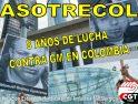 ASOTRECOL: 8 años plantando cara a los abusos de GM en Colombia