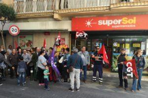 CGT no ha firmado el ERE de Supersol
