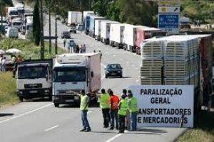 PORTUGAL   Moción de solidaridad con la lucha de los transportistas en Portugal