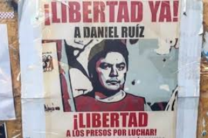 ARGENTINA  Solidaridad internacional por la liberación del preso político argentino Daniel Ruiz