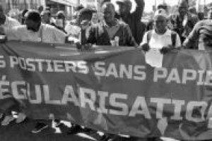 FRANCIA | ¡Apoyo a los trabajadores sin papeles en huelga desde hace mes y medio!
