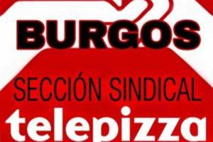 La huelga en Telepizza Burgos ha sido un éxito