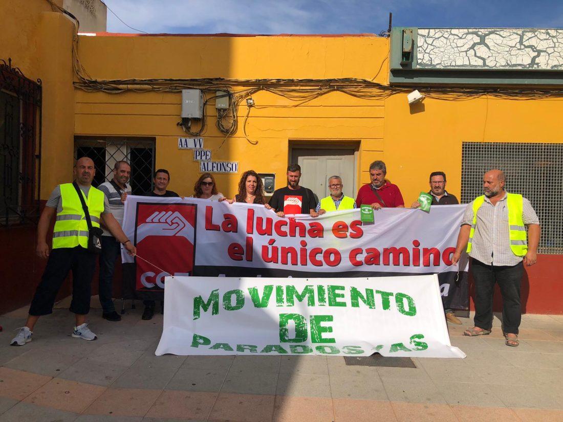 CGT-Andalucía, Ceuta y Melilla valora como muy positiva la visita a la ciudad autónoma de Ceuta, con la intención de consolidar la presencia de nuestra organización