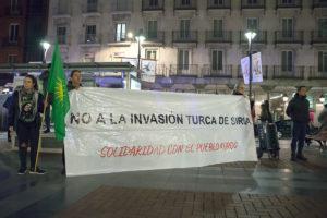 Concentración solidaria con el pueblo Kurdo