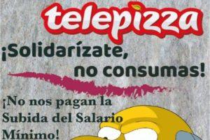 Boicot a Telepizza