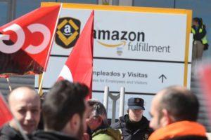 CGT alerta de las condiciones laborales en los centros de Amazon