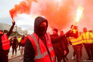 Francia: Reforma jubilatoria. Huelga general a partir del 5 de diciembre