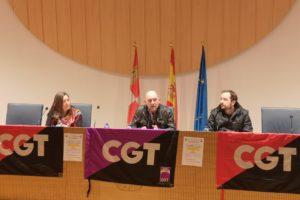 CGT Soria convoca una asamblea de trabajadores y trabajadoras de la Junta de Castilla y León